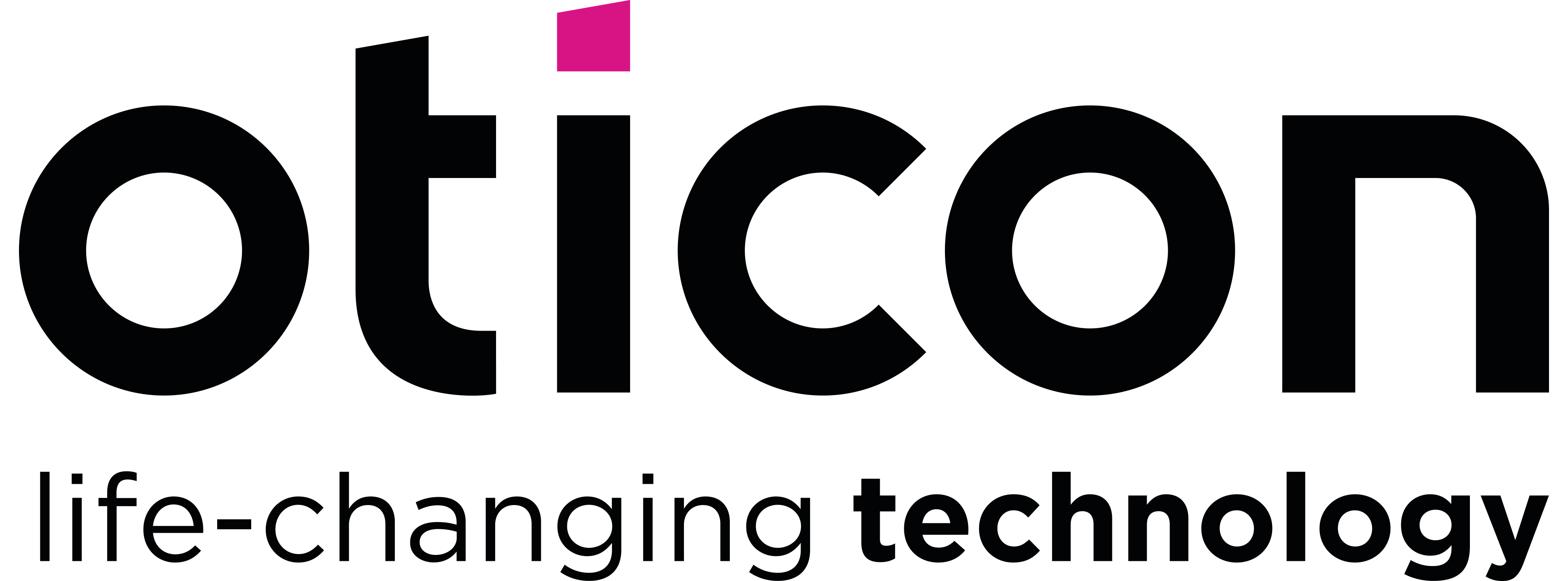 Oticon logotyp
