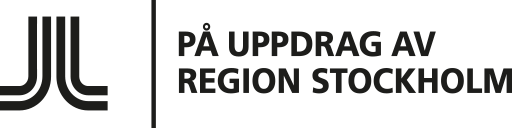 På uppdrag av Region Stockholm - Logotyp